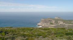 Cape Point South Africa Coastline Stock Footage