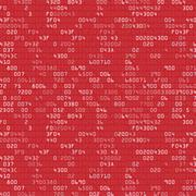 Security background with HEX-code - stock illustration