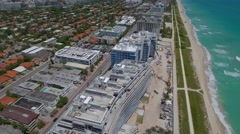 Surf Club Four Seasons construction Miami Beach 4k Stock Footage