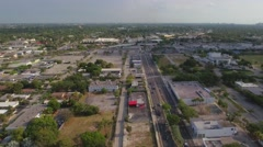 North Federal Highway Fort Lauderdale Stock Footage