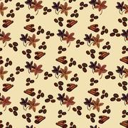 Spaises eamless pattern Stock Illustration