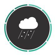 Rain computer symbol Piirros