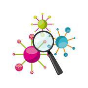 biology science design - stock illustration