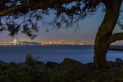 Quiet Night on San Francisco Bay Kuvituskuvat