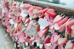 Love Lock - stock photo