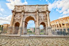 Arco di Costantino Roma - stock photo