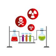 biology science design - stock illustration