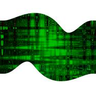 digital, green abstract background, beautiful banner wallpaper design illustr - stock illustration
