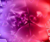 Star abstract background, beautiful banner wallpaper design illustration Stock Illustration