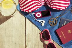 Summer holiday vacation concept Stock Photos