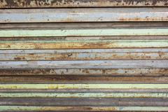 Side of steel stack layer texture background Stock Photos