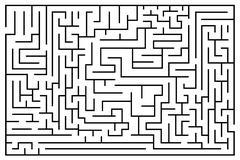 Labyrinth or maze Stock Illustration