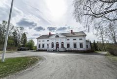 Baggbole Mansion in Spring Stock Photos