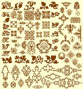 Design elements. Layered vector Stock Illustration