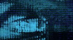 Futuristic technology video fluctuation - Future Tech 0155 HD, 4K Stock Footage