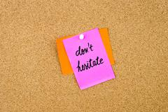 Do Not Hesitate written on paper note Stock Photos