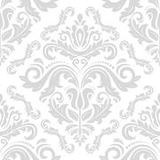 Seamless Oriental Background Stock Illustration