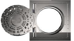 Vault door. 3D Stock Illustration