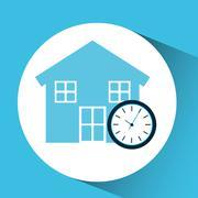 Investment housing design Stock Illustration