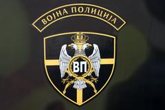 Serbian Military Police Emblem - stock photo