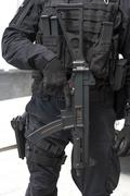Special Force Soldier weapon detail Stock Photos