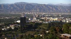 4K San Fernando Valley 01 Universal City Stock Footage
