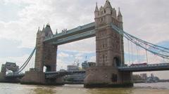 Tower Bridge Stock Footage