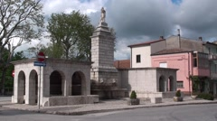 Frosolone, province of Isernia, Molise Italy Stock Footage