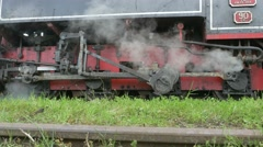 Motion Transmission Frame Steam Train Stock Footage
