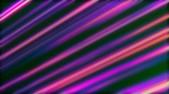 Colored Motion Curtain Purple Diagonal Light Illuminated Lines Stock Footage