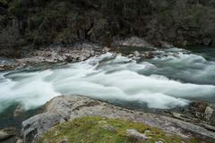 Paiva river - stock photo
