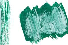 Emerald background gouache - stock photo