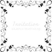 Abstract background with antique - stock illustration