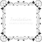 Abstract background with antique Stock Illustration