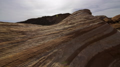 2axis MoCo Time Lapse of Fire Wave in Valley of Fire SP  Stock Footage