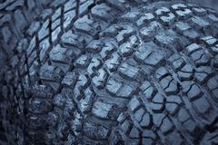 Car tires Stock Photos
