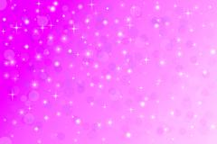 Star and bokeh, abstract background, beautiful banner wallpaper design illust Stock Illustration