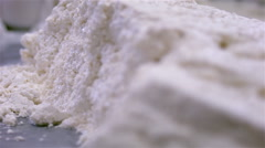 Cheese making. Stock Footage