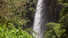 Condor Machay Waterfall time-lapse, Ecuador - stock footage