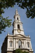 Church of St Mary le Strand, London Stock Photos