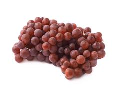 Branch of the dark grape isolated - stock photo