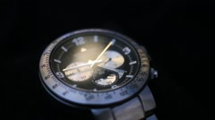 Men's Watches, Luxury, Fashion, Casual, Sport Watches Stock Footage