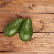 Avocado fruit composition Stock Photos