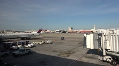Airfield of New Orleans International Airport - stock footage