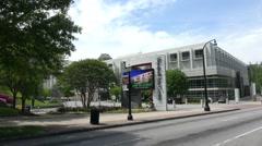Woodruff Arts Center in Atlanta Stock Footage