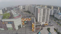 Aerial Drone IMAX China - stock footage