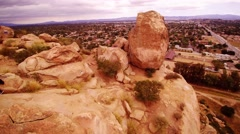 Stoney Point in Chatsworth, CA Stock Footage