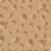 Sand seamless pattern Stock Illustration