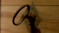 Working tools from an antique winery. Stock Footage