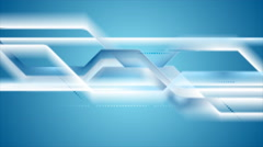 Abstract geometric tech striped video animation Stock Footage